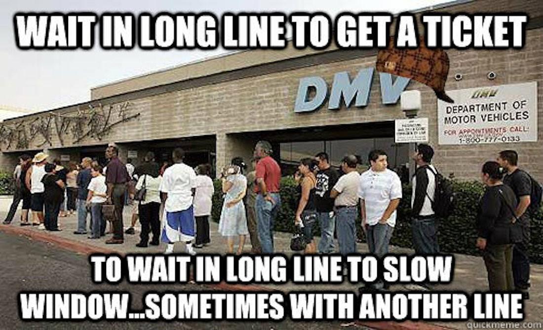 DMV Meme