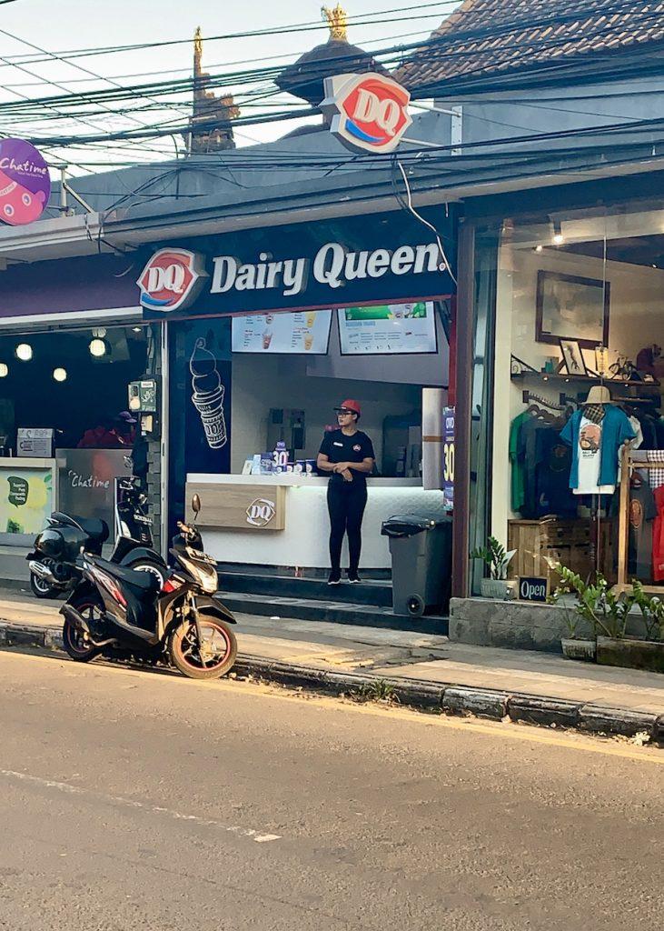 Ubud Bali Dairy Queen