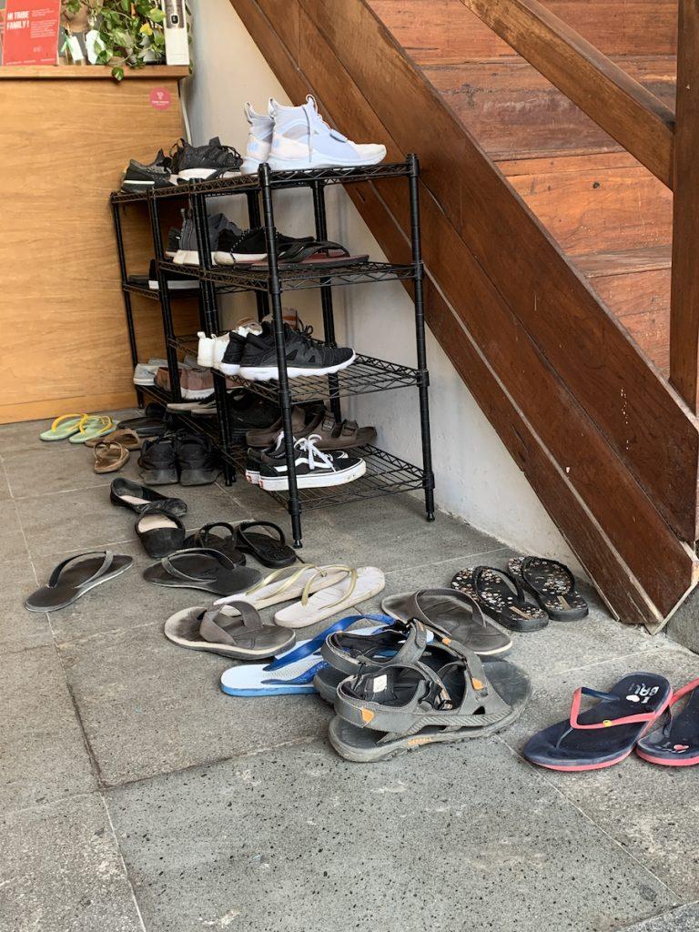 Shoe Rack in Bali