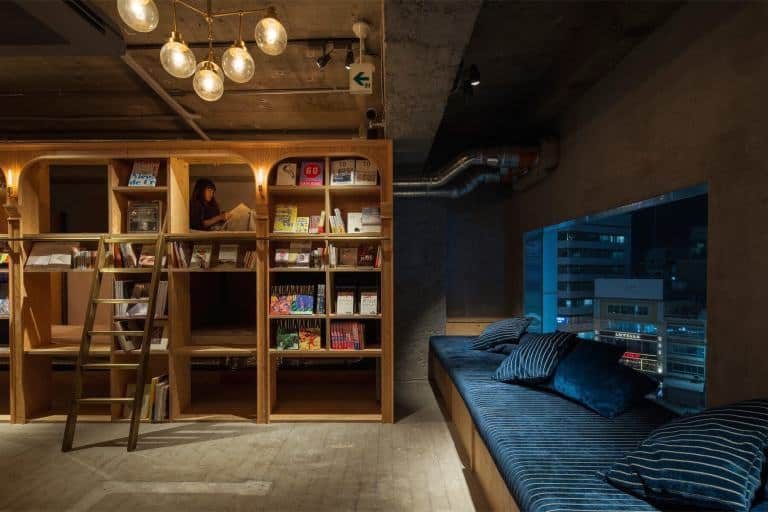 Book and Bed Capsule Hotel Tokyo