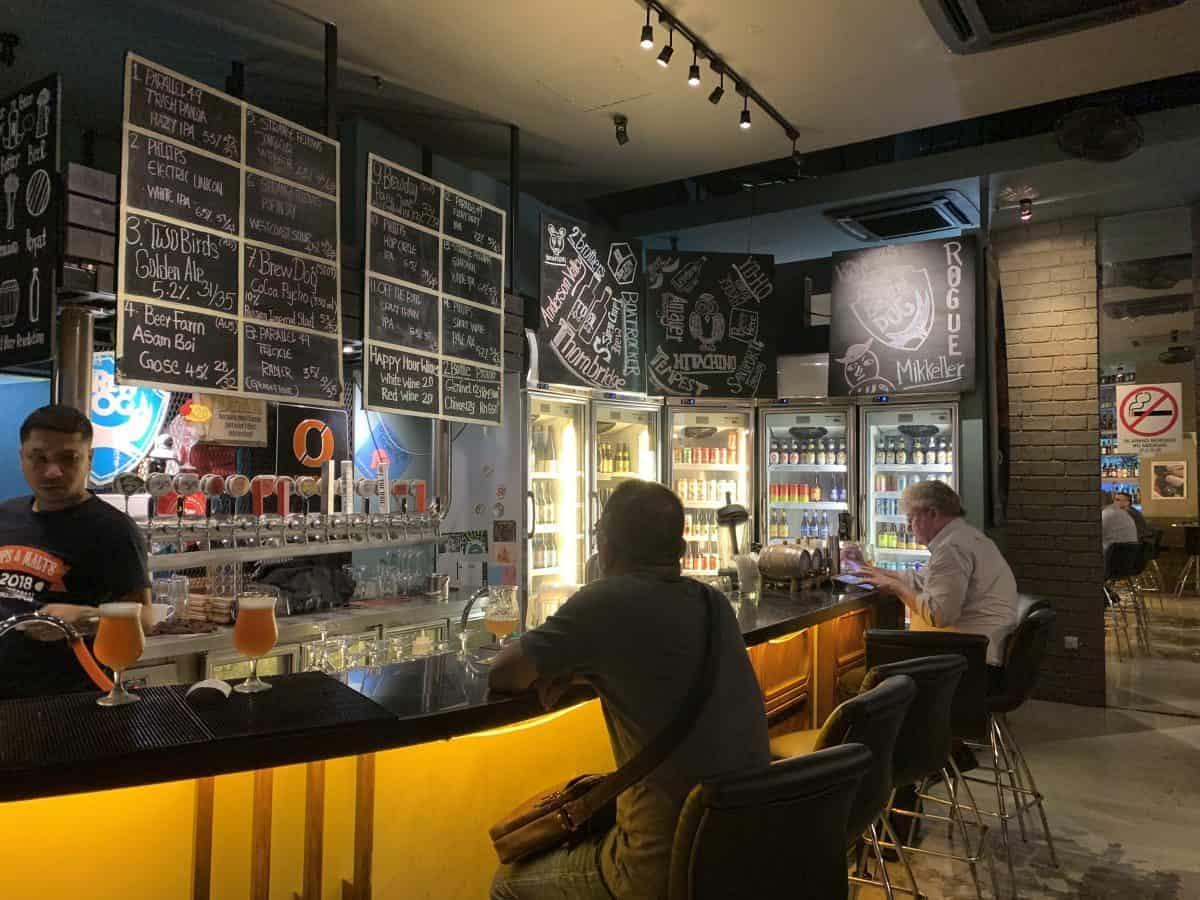 Taps Beer Bar Kuala Lumpur Malaysia