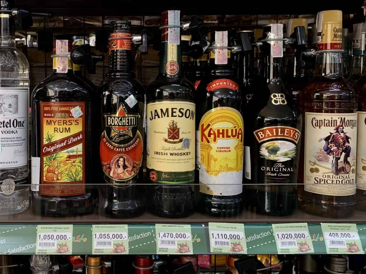 Expensive Prices of Alcohol In Kuala Lumpur