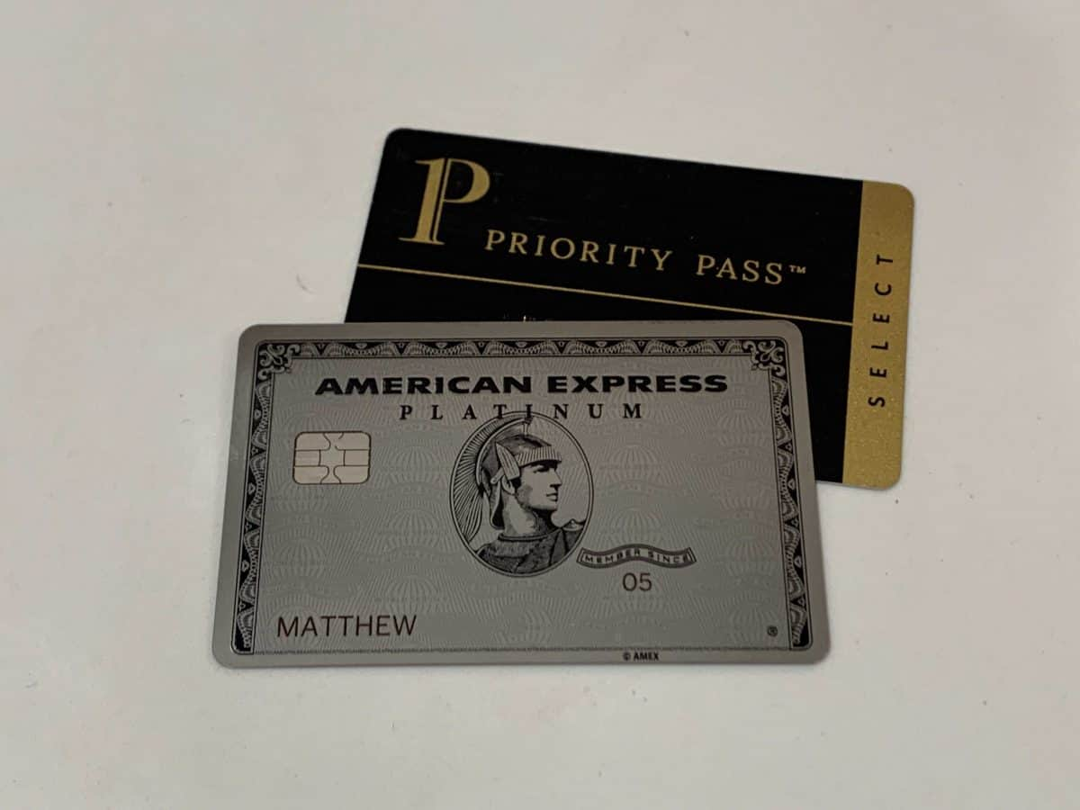 American Express Platinum Card and Priority Pass