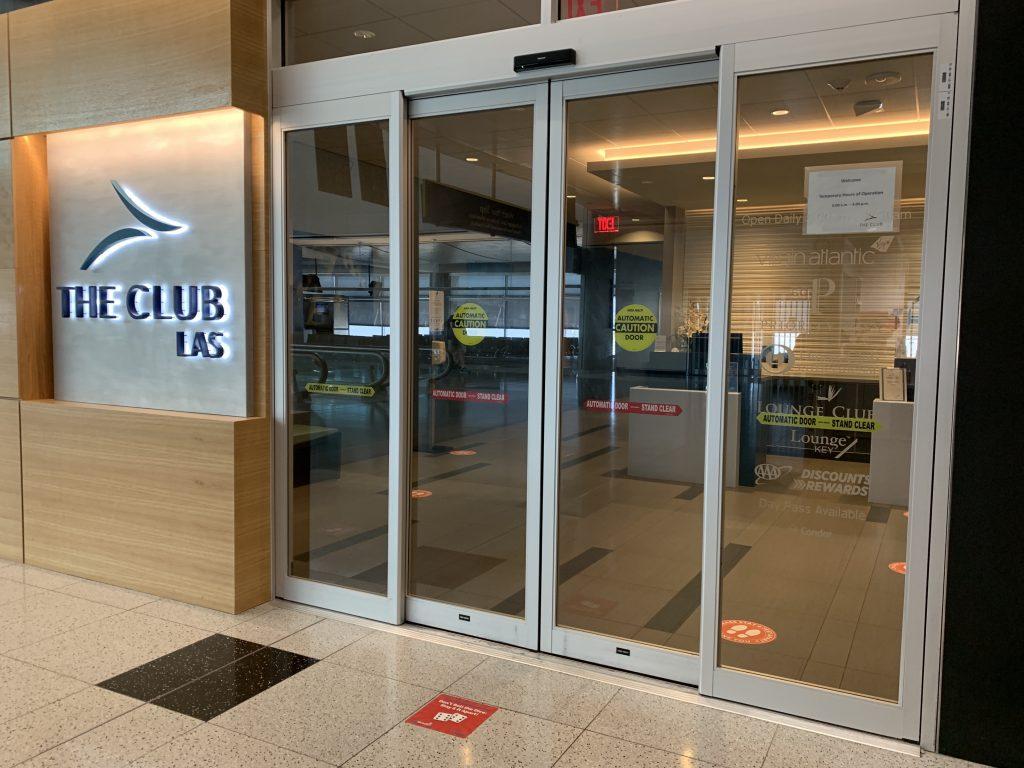 The Club Las Vegas COVID